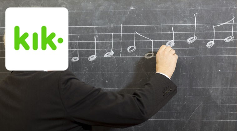 The Kik kreeper music teacher