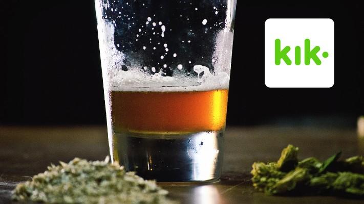 Kik kreeper blames weed and booze
